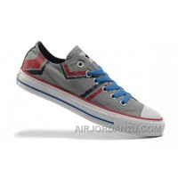 Grey CONVERSE Tops Graffiti Printed All Star Canvas Authentic Acxbk