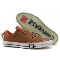 Undefeated CONVERSE All Star Tops Khaki Canvas Clear Rubber Soles For Sale TRnTn