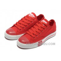 Red CONVERSE Tops Lightning Chuck Taylor All Star Canvas Shoes Discount PxjfA