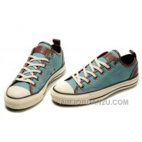 Blue CONVERSE All Star Chuck Taylor D Ring Natural Faint Tops Ox Canvas Shoes Free Shipping Yk456