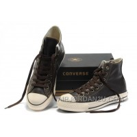 Brown CONVERSE High Tops All Star OX Leather Sneakers Hot Now CEMmG