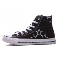 Black High Ps CONVERSE Star Embroidery CT All Star Canvas Shoes Cheap To Buy DnzkF