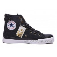 Black CONVERSE Chuck Taylor All Star Double Zip High Ps Canvas Cheap To Buy BeW6n