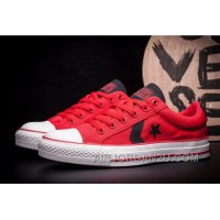 CONVERSE Star Player EV Red Black Chuck Taylor AS Canvas Cheap To Buy 6acKA