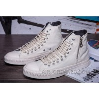 All Star All White CONVERSE Two Row Eyelets Side Zip CT High Canvas Hot Now BjeJX