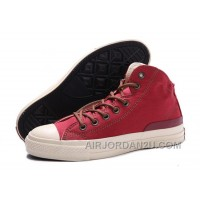 Red High Tops CONVERSE Jason Statham Chuck Taylor All Star Canvas Shoes Hot Now 8HQ5N