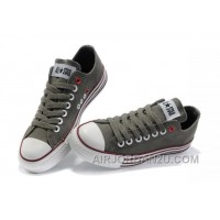 Grey CONVERSE All Star Multi Lines Tops Canvas Shoes Hot Now SCthR