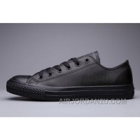 Classic All Star All Black CONVERSE Chuck Taylor All Star Leather Low Christmas Deals HcfQZ