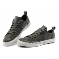 CONVERSE Chuck Taylor Grey All Star City Lights Tops Black Leather Canvas Sneakers Free Shipping PQeFp