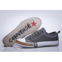 Gray CONVERSE Chuck Taylor All Star Sawtooth Transparent Sole Authentic BCPha
