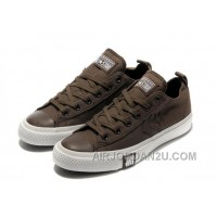 Brown CONVERSE All Star Chocolate Simple Slip Tops Canvas Shoes Online Cze3C