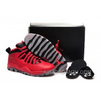 "For Sale Girls Air Jordan 10 ""Bulls Over Broadway"" Shoes"