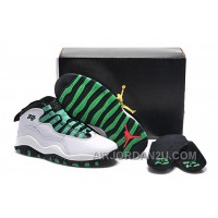 "Cheap Girls Air Jordan 10 Retro ""Verde"" For Sale"