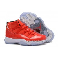 "New Girls Air Jordan 11 Retro Carmelo Anthony ""Red"" PE For Sale"