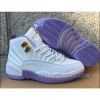 "2017 Air Jordan 12 GS ""Dark Purple Dust"" New Arrival"