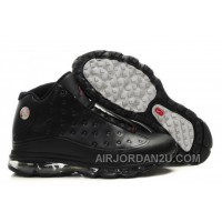Women's Nike Air Max Jordan 13 Shoes All Black Discount