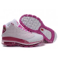 Women's Nike Air Max Jordan 13 Shoes White/Pink Hot