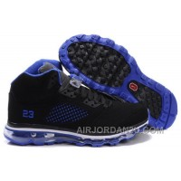New Arrival Men's Nike Air Max Jordan 5 Shoes Black/Blue