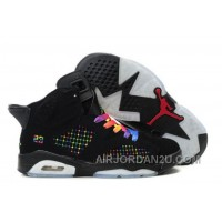 Women's Nike Air Jordan 6 Shoes Black/White/Other Color Online