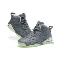 Discount Women's Nike Air Jordan 6 Shoes Dark Grey