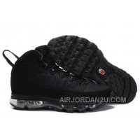 Men's Nike Air Max Jordan 9 Shoes All Black New Arrival
