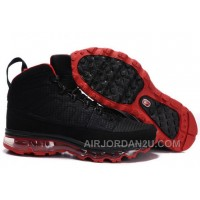 Cheap Men's Nike Air Max Jordan 9 Shoes Black/Red