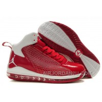 Men's Nike Air Max Jordan Fly 23 Shoes Red/White New Arrival