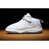 Kids Air Jordan 11 Toddler All White New