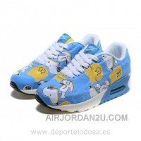 Nike Air Max 90 Kids Zapatillas Azul Blanco 1003 (Zapatillas Nike Air Max 90) Cheap To Buy Fa5Nc