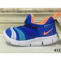 NIKE DYNAMO FREE Kids Shoes Blue For Sale SQWx2