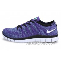 NIKE 5.0 599459-500 Flyknit Purple White Blue Super Deals F8hbZ