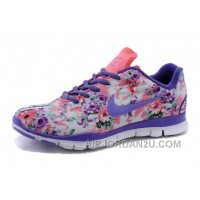 NIKE 5.0 Women Floral Blue Top Deals CkccBw