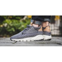 Nike Air Footscape Woven Chukka SEDark Grey/Sail-Vachetta 857874-002 Lastest