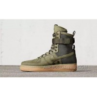 Nike Air Force 1 High Military Green Double Buckles Online RiXdh