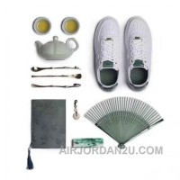 Nike Air Force 1 AF1 Jade 919521-100 919896-100 White Jade Metallic Women Men Discount MyMsx