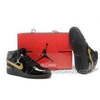 Best Price To Buy High Cut Air Jordan 1 I Retro Mens Shoes Black Yellow Online