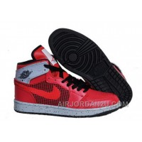 New Uk Air Jordan 1 Retro 89 Newest Mens Shoes Online Red Cemenst Grey