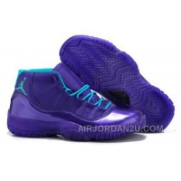 Where Can I Buy Nike Air Jordan Xi 11 Retro Mens Shoes New Releases Deep Purple Sky Blue Hot New Hot