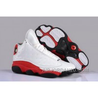 For Sale Usa Air Jordan Xiii 13 Discout Mens Shoes White Red Black