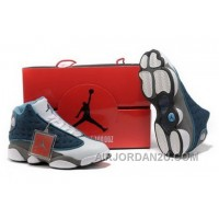 Discount Hot Shopping Online Discount Air Jordan 13 Xiii Retro Mens Shoes For Sale Blue White
