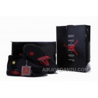 Where To Buy On Sale Popular Nike Air Jordan 14 Xiv Mens Shoes Black Red For Sale
