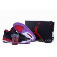 Wholesale Online Popular For Sale Air Jordan 3 Iii Mens Shoes New Black Red New