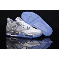 New Arrival New Zealand Nike Air Jordan Iv 4 Laser 5lab4 Retro Mens Shoes Online Rice White Blue New