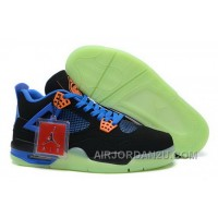 New Arrival Clearance Air Jordan 4 Iv Mens Shoes Special For Christmas Black Blue
