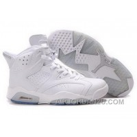 Switzerland Nike Air Jordan 6 Vi Retro Mens Shoes White On Sale Online New Arrival