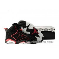 Discount Code For On Sale Air Jordan Vi 6 Retro Mens Shoes Online Outlet Black Red New Arrival