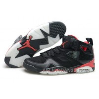 Denmark 2013 New Nike Air Jordan 6 Vi Mens Shoes Black Red Cheap