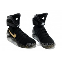 Nike Air Mag Back To The Future Limited Edition Shoes Black Gold Best DNXxNkN