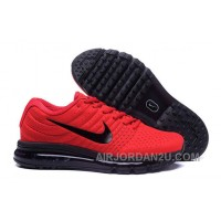 Authentic Nike Air Max 2017 Red Black Black Discount DtsMJ