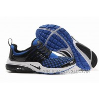 820-998390 Nike Air Presto Women Blue/Black/White Authentic FziPx